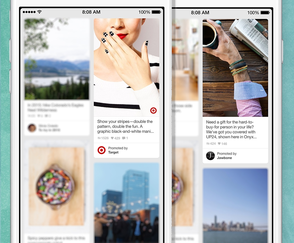 Pinterest Brings Sponsored Posts to Users' Home Feeds