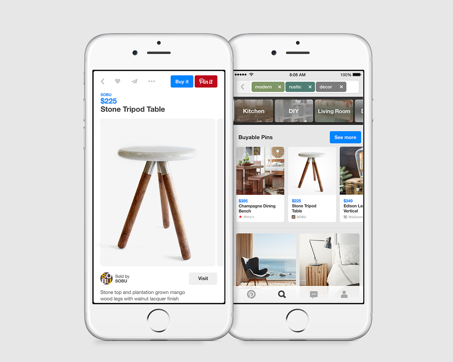 Pinterest to Launch Buyable Pins
