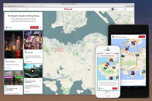 Pinterest Adds Location-Based Place Pins