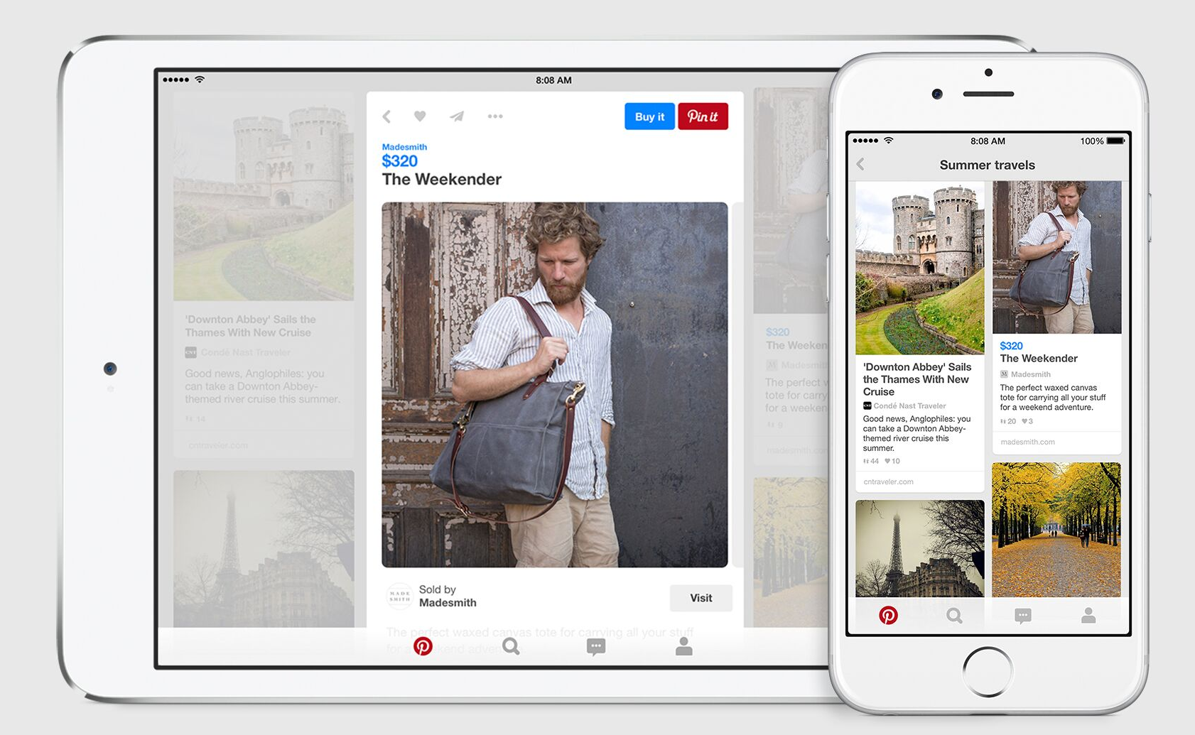 Pinterest Launches Mobile-first Buyable Pins