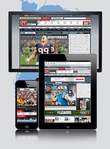 Sports Illustrated Relaunches With Responsive Site