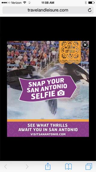 San Antonio Selfie Campaign Drives Visitor Engagement