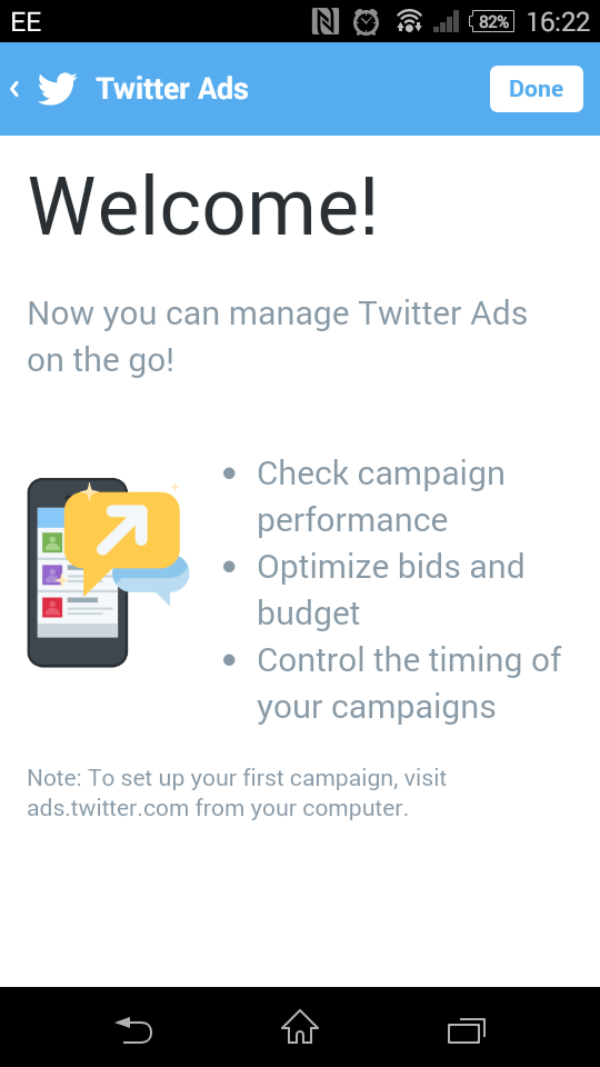 Twitter Gives Every Mobile User an Ad Dashboard