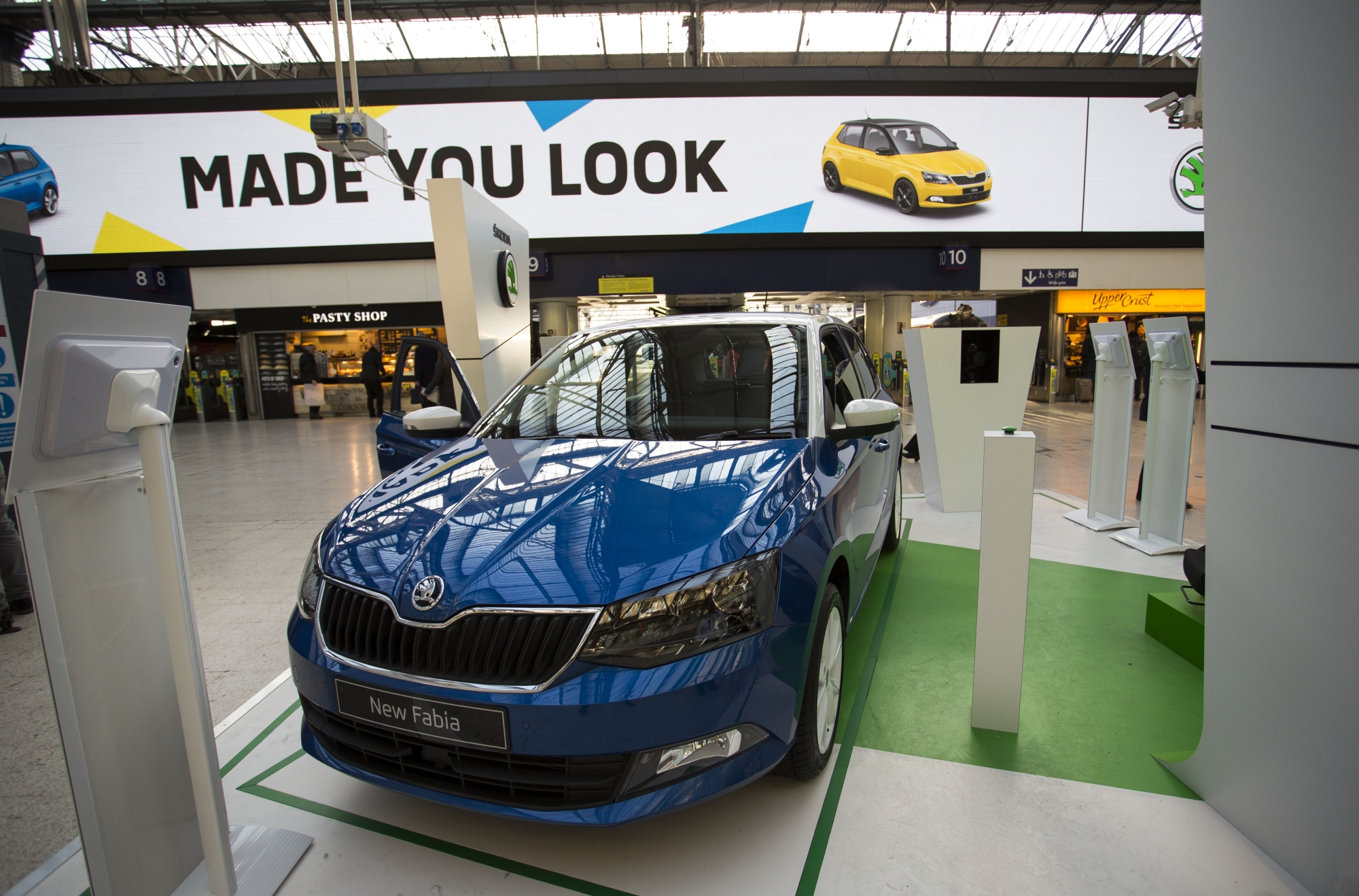 Škoda AR Campaign Puts Commuters in the Driving Seat