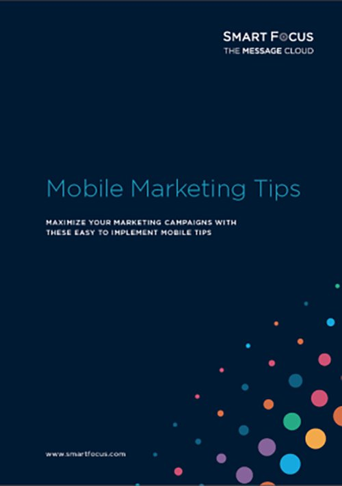 Mobile Marketing Tips – SmartFocus