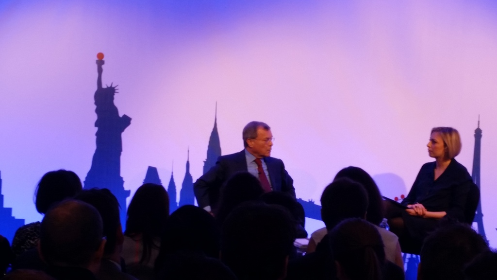 Sorrell: Geography's Easy, Tech is Harder
