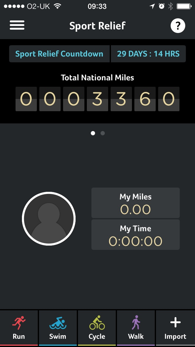 Sport Relief Launches Mobile-first 'Make Every Mile Count' Campaign