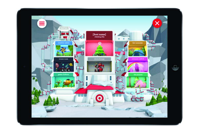 Target Aims for Christmas Shoppers with Wish List App