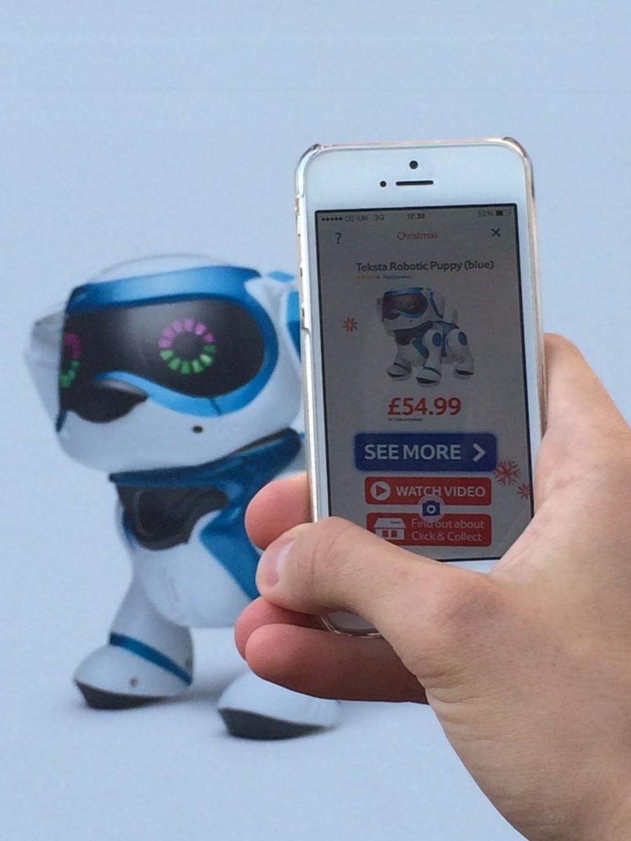 Tesco Goes AR and QR for Christmas | Mobile Marketing Magazine