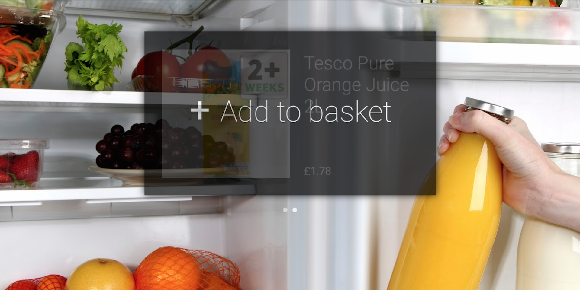 Tesco Launches Shopping App for Glass