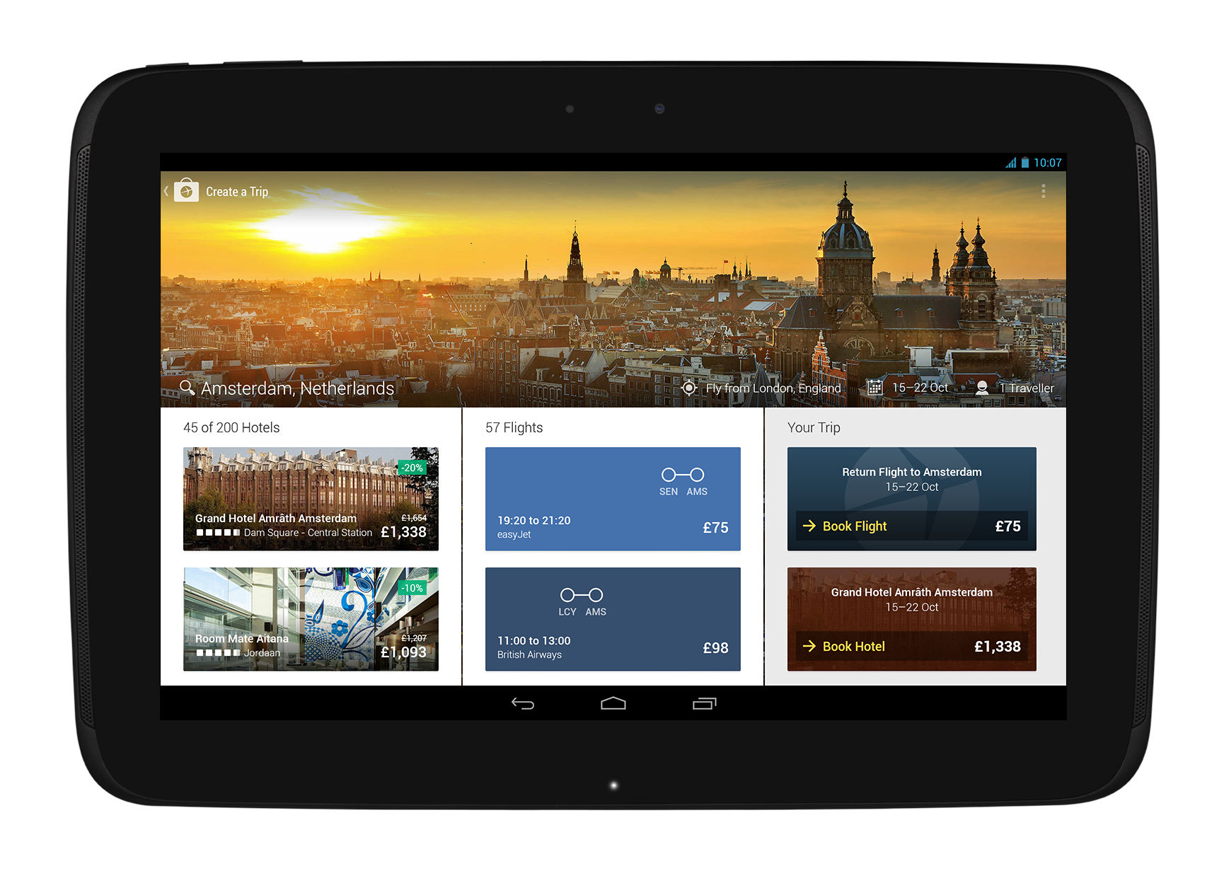 Expedia Relaunches iPad App with Enhanced Search Functionality