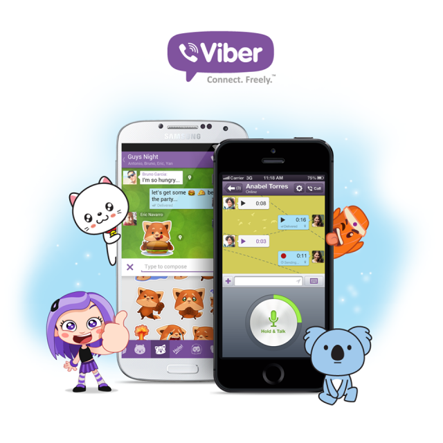 Viber Starts Charging for Stickers