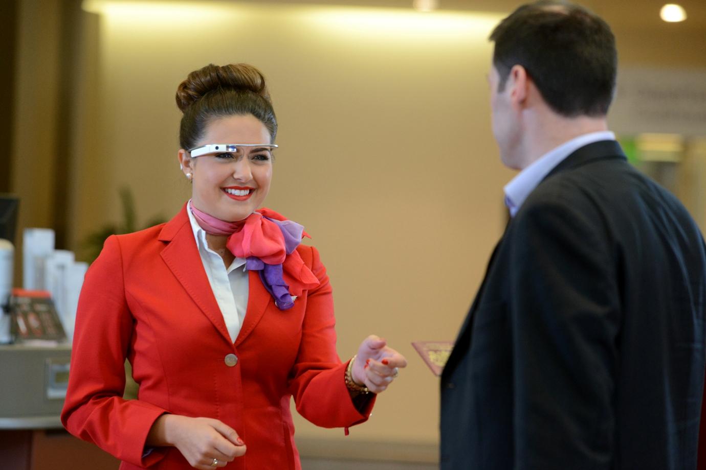 Virgin Atlantic Pilots Google Glass at Heathrow
