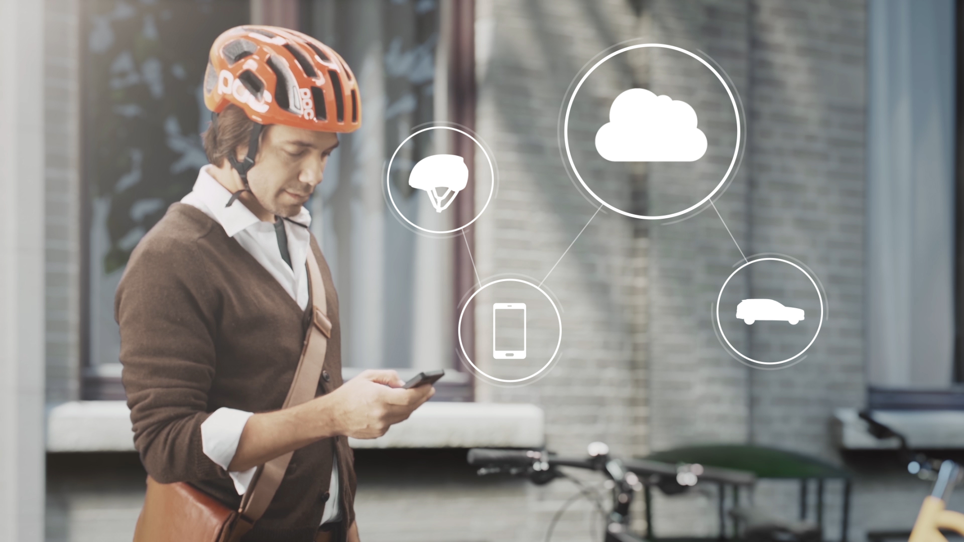 Volvo, Ericsson and POC Partner for Cycle Safety Technology
