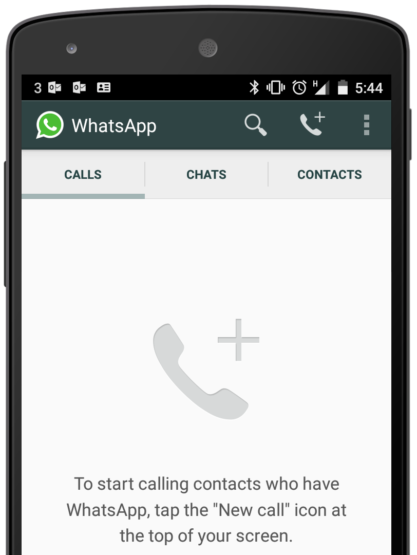 WhatsApp Adds Voice Call Functionality