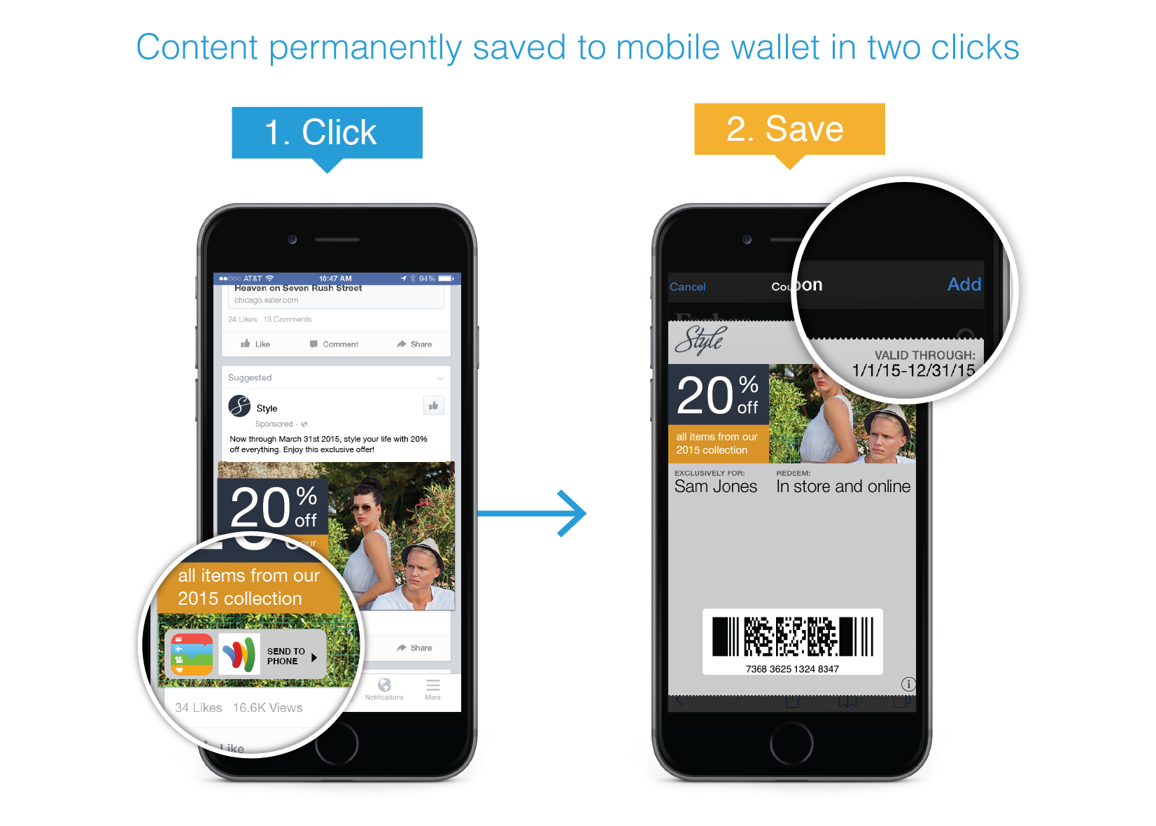 Vibes Links Mobile Wallets and Advertising