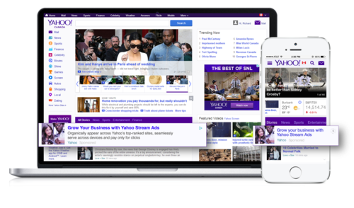 Yahoo Launches Stream Ads Native Ad Format in Europe