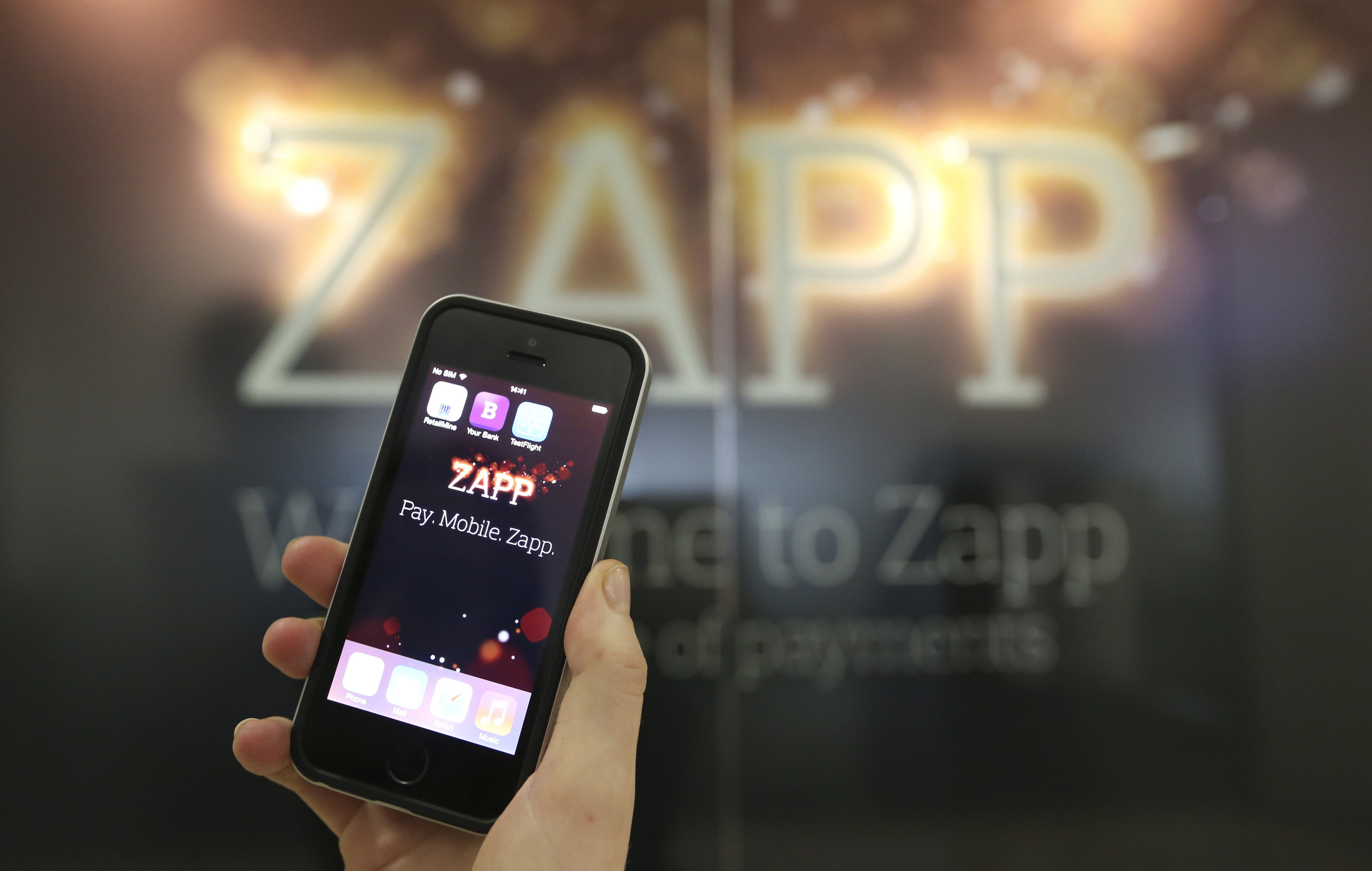 TouchGo Partner with Zapp for Mobile Payments