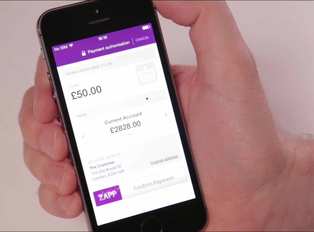 Zapp Rolling Out Mobile Payment Service with Five UK Banks