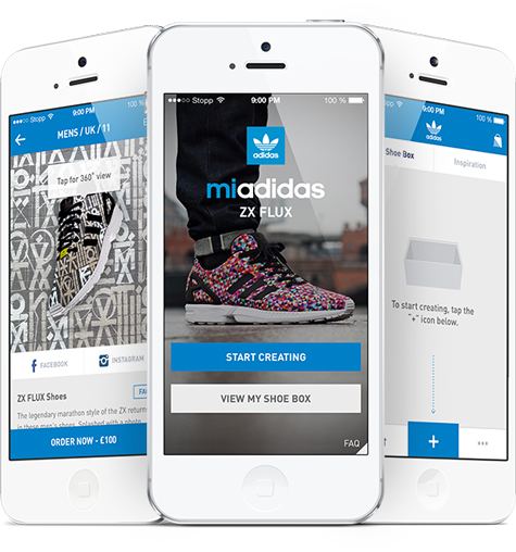 Adidas Expands Trainer Customisation with Photo Print App