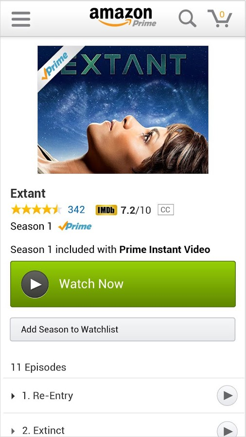 Amazon's Prime Instant Video Finally Available on Android