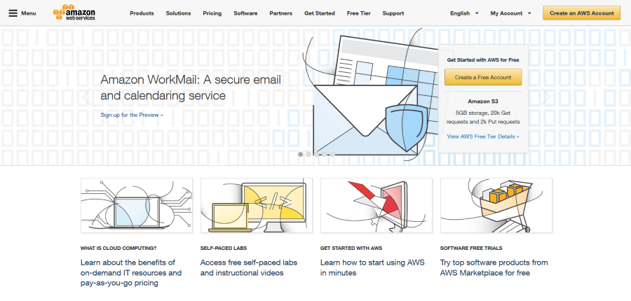 Amazon Web Services Launching Business Email and Calendar Solution