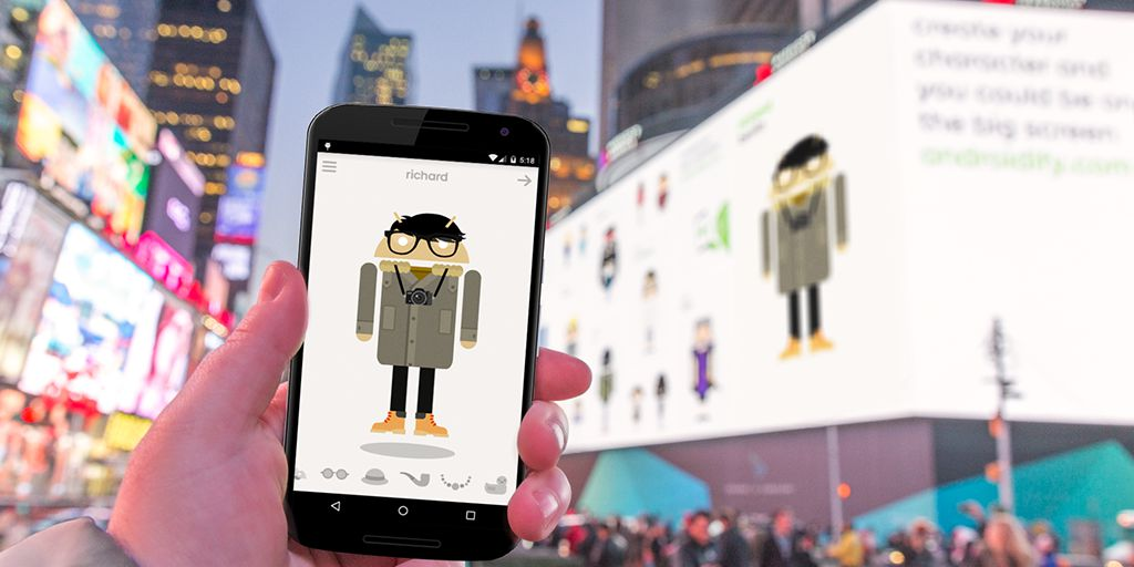 Google Ad Uses Mobile to Take Over Times Square
