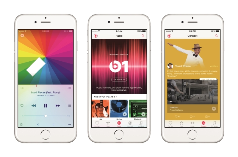 Apple Music Advertises with Shazammable OOH Posters