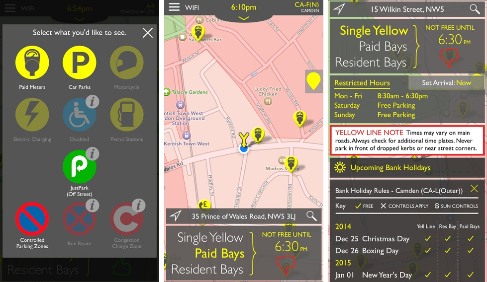 App-based Parking Trialled in Westminster