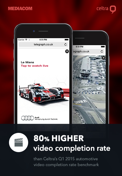 Audi Debuts Vertical Video Ad Format for Le Mans