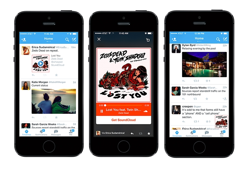 SoundCloud Bands Together with Twitter to Bring Streaming Audio to Tweets