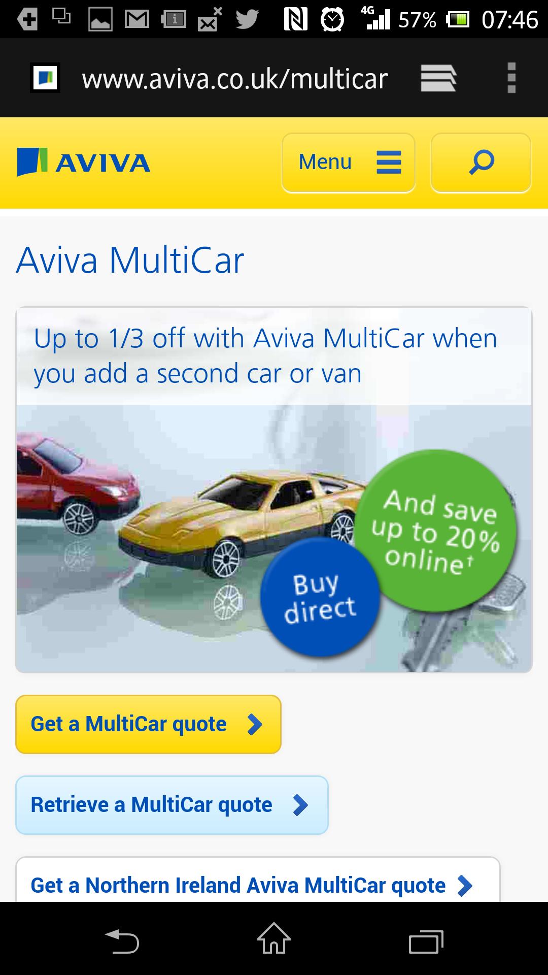 Mobile Marketing in the Wild: Aviva Mobile Ad Campaign