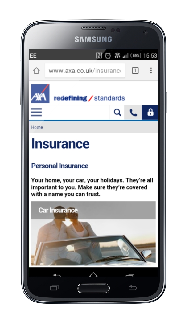 AXA Refreshes Customer Journey with Focus on Mobile