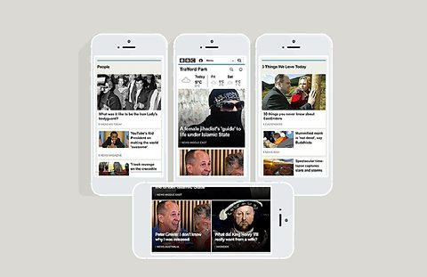 BBC Redesigns Homepage for Mobile, Criticised by Users