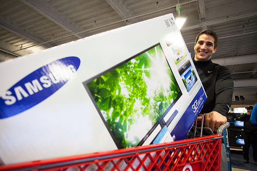 Almost Half of Black Friday Online Traffic came from Mobile