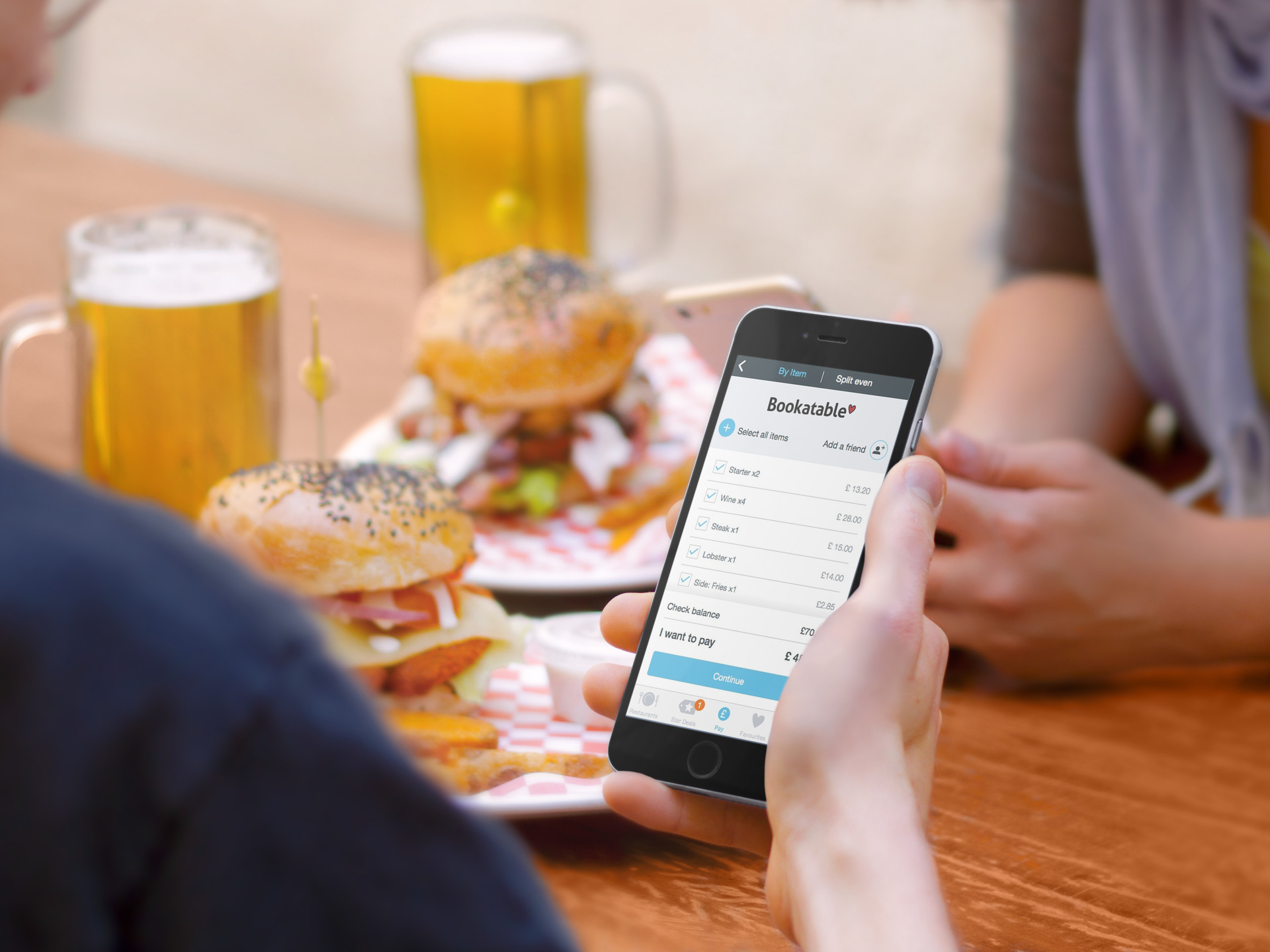 Bookatable Introduces Mobile Payment with PayPal