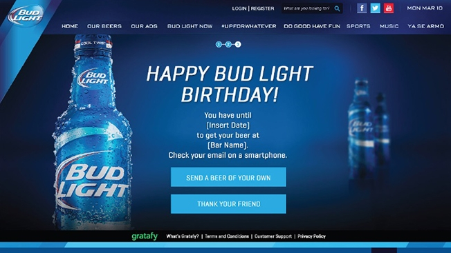 Budweiser Tests Mobile Coupons with Facebook Campaigns