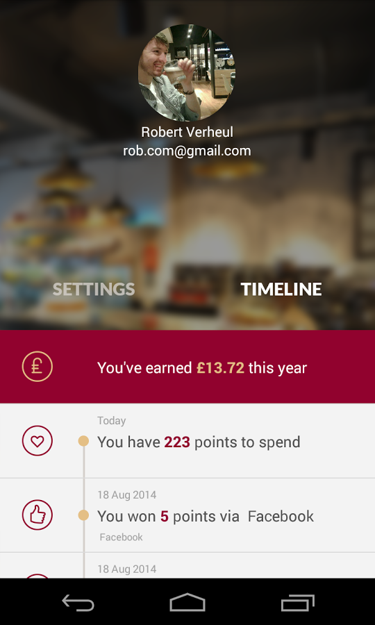 Costa Coffee Updates Loyalty App