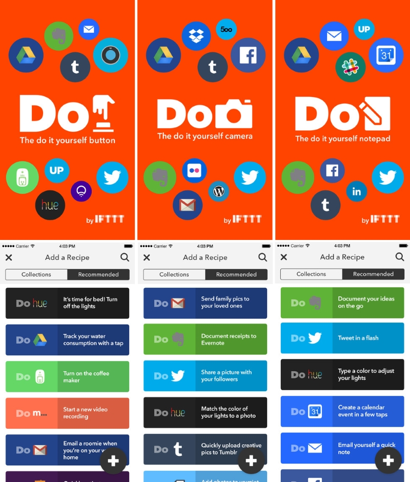 IFTTT Renames App, Launches 'Do' Services