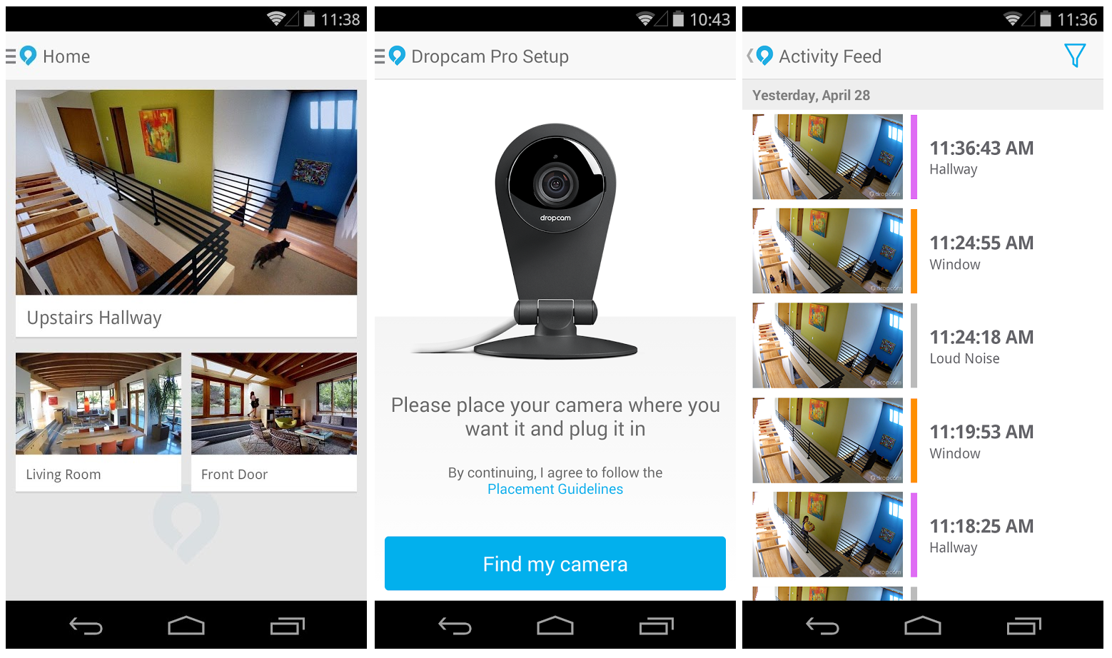 Google's Nest to Acquire Dropcam for $555m