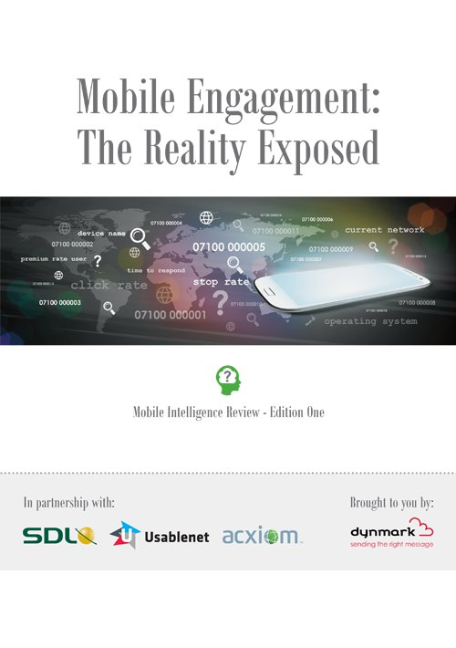 Dynmark: The Truth About Mobile Engagement