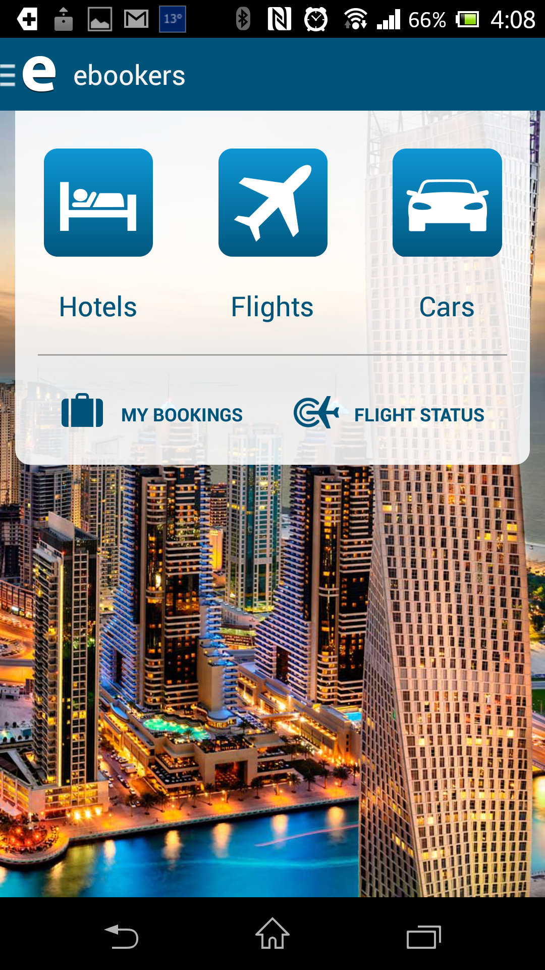 ebookers Launches All-in-one Travel App