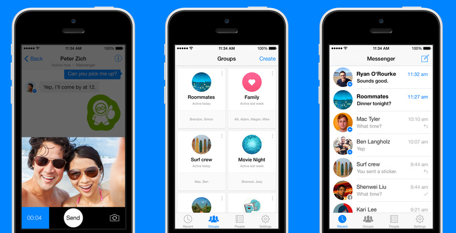 Facebook Messenger Tops UK Apps as Messaging Pulled from Main App