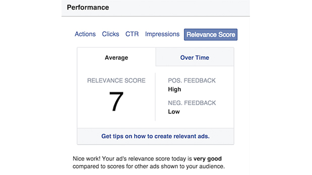 Facebook Reveals Ad 'Relevance' to Business Users
