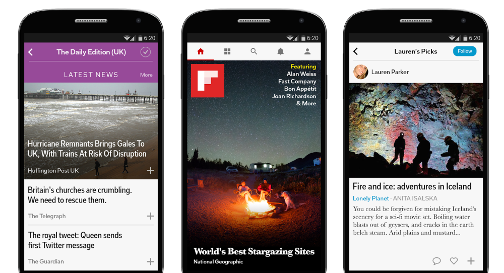 Twitter Considering $1bn Acquisition of Flipboard