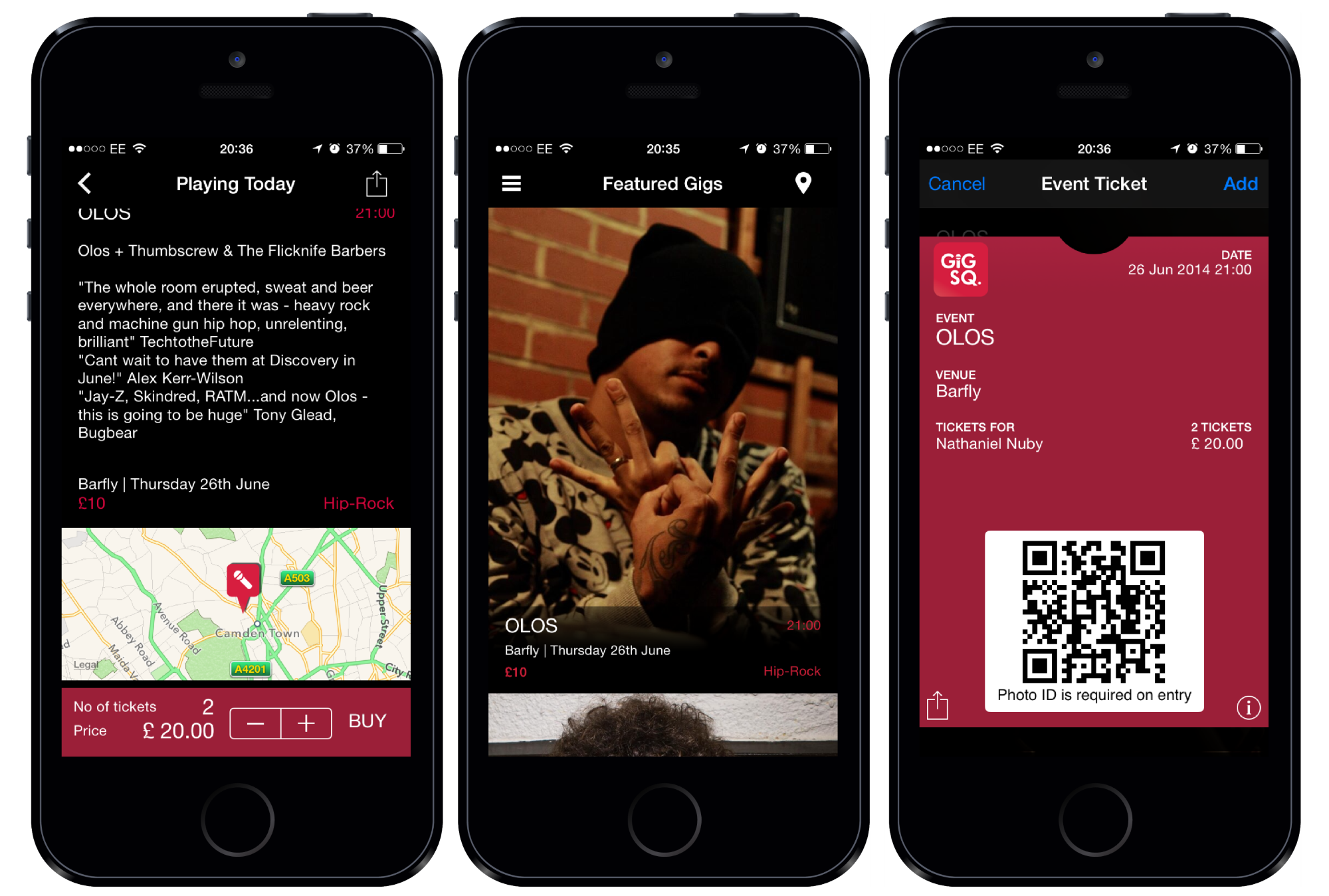 Live Music Discovery App Gig Sq. Expands into Ticketing