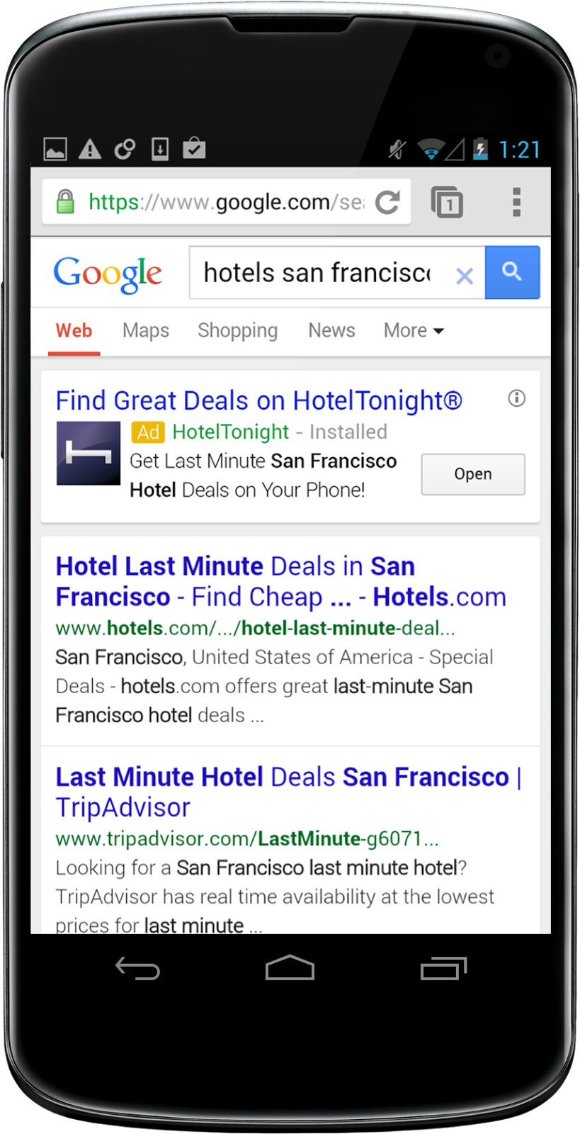 Google Rolls App Install Ads out to Search and YouTube