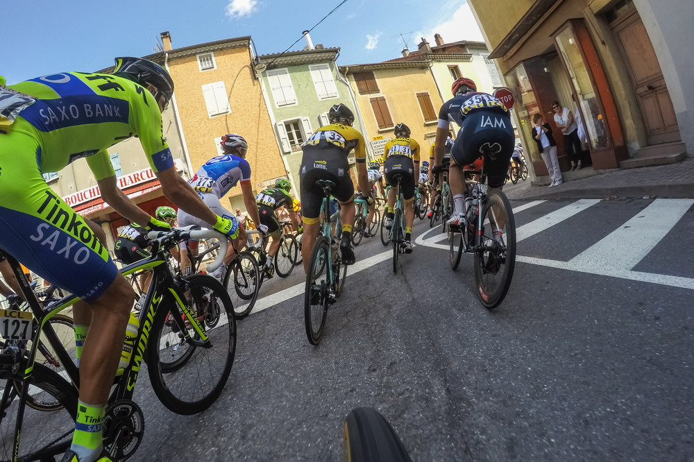 GoPros in Every Race for Tour de France