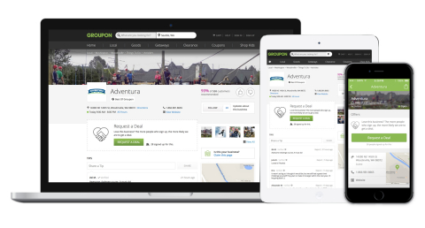 Groupon Unveils Merchant Self-Promotion with 'Pages'
