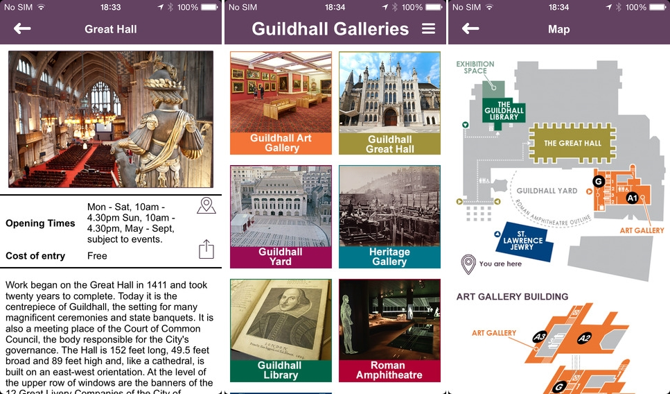 Guildhall Galleries Deploys Mobikats' Beura Beacon Platform